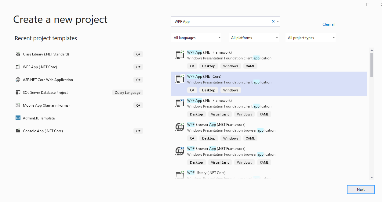 NET Core Dependency Injection for WPF Core   by Achraf Chennan ...