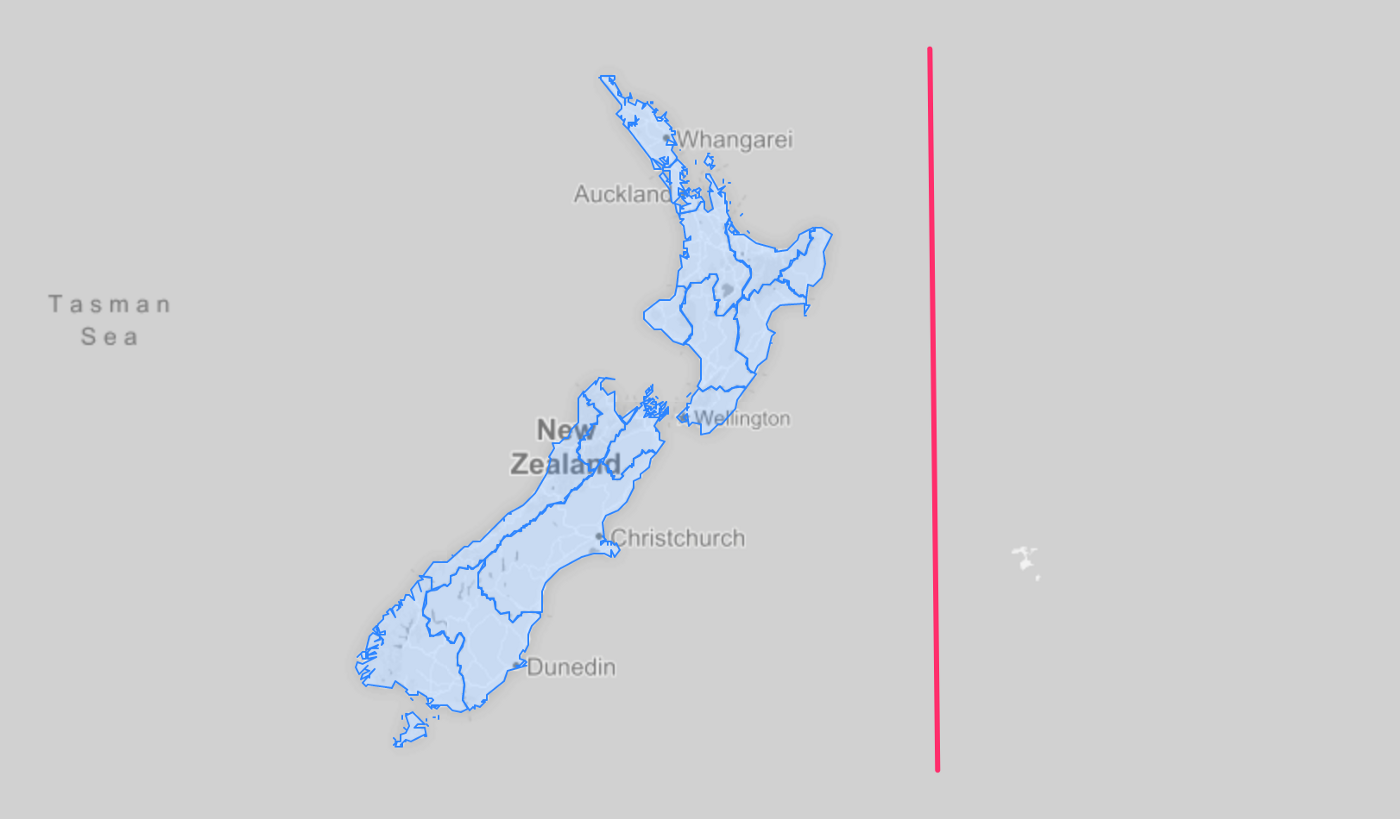 Making Maps for New Zealand Regions and Territories in R