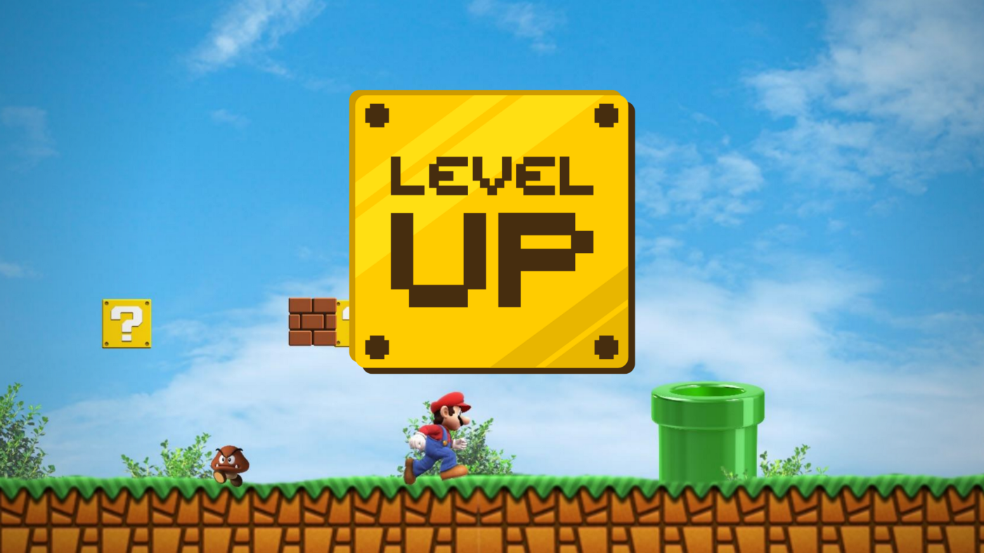 Mario game: Level UP.
