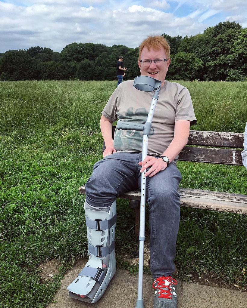 My fractured year: A broken ankle diary - Darryl Chamberlain - Medium