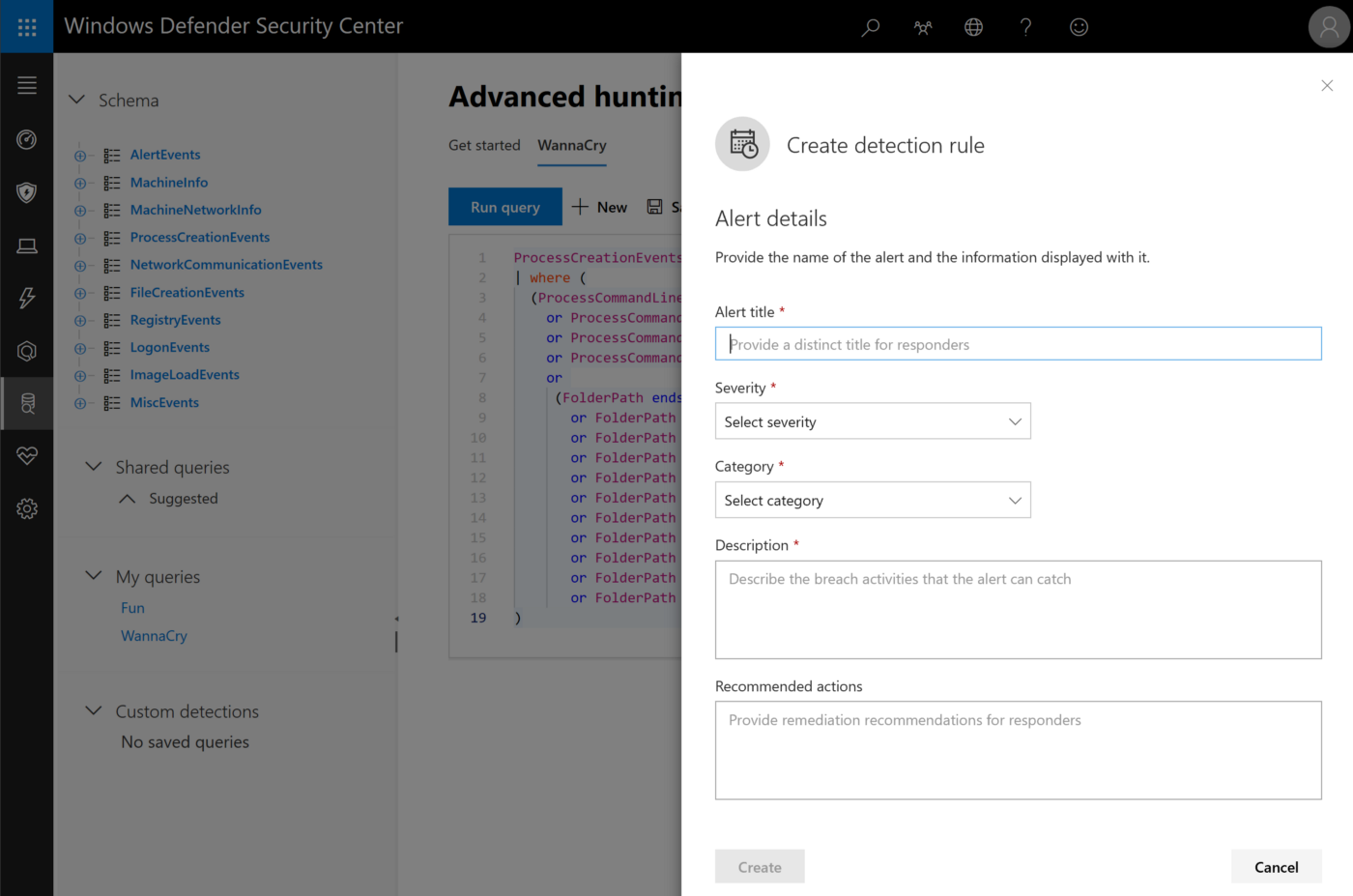 Windows Defender ATP: harnessing the collective intelligence of the