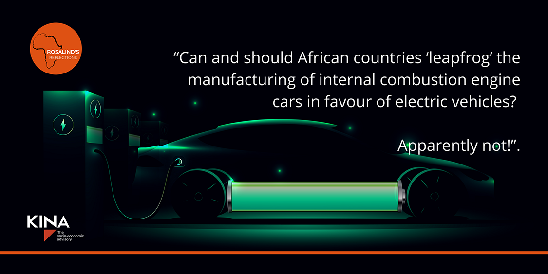 Kina Advisory Article | Car manufacturing in Africa: Blue sky thinking needed