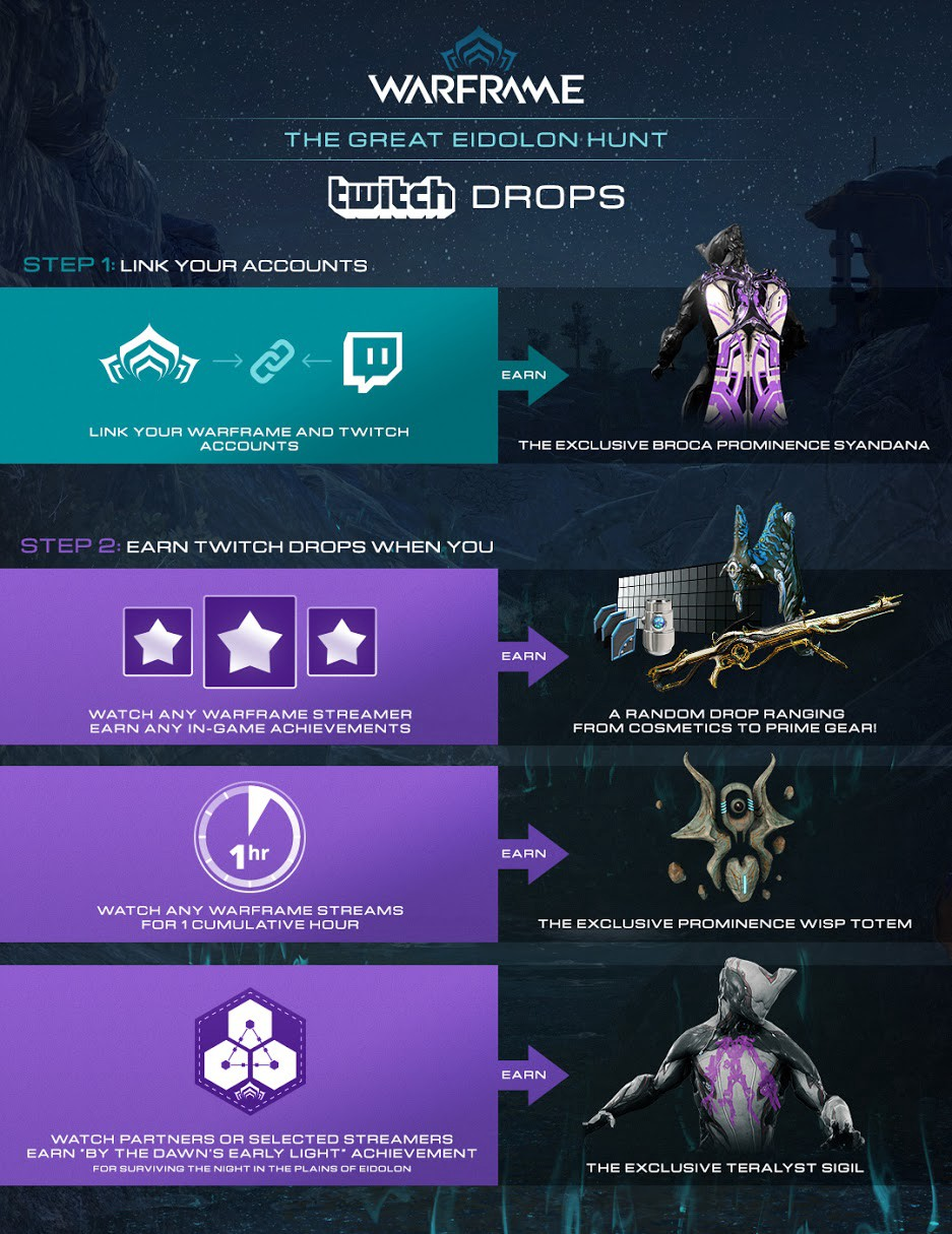 Watch Warframe on Twitch and get free Drops - Twitch Blog