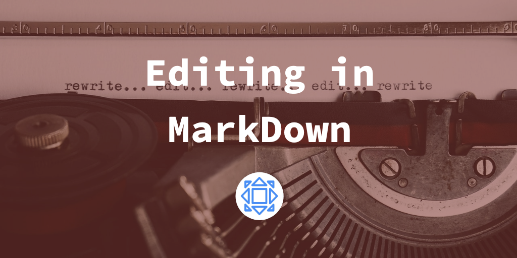 Title image—typewriter in background with title text overlayed.