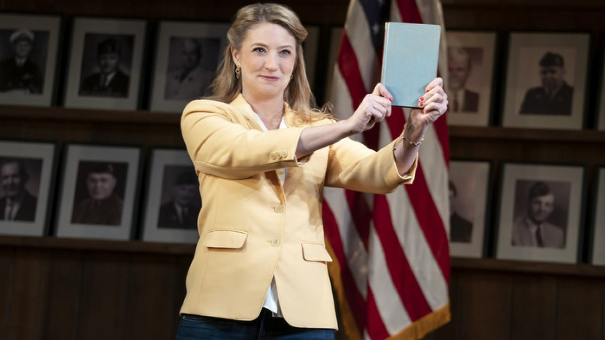 The star of the movie of the play 'What The Constitution Means To Me,' Heidi Shreck