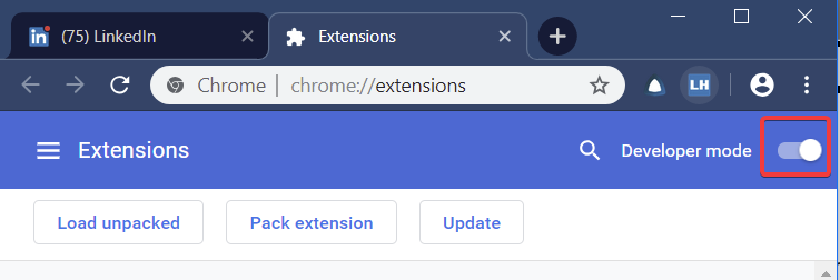 How to force an update of Chrome extensions - Linked Helper - Medium