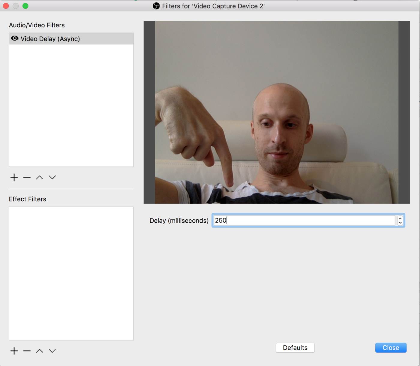How to live stream with your laptop webcam and iPhone for $1