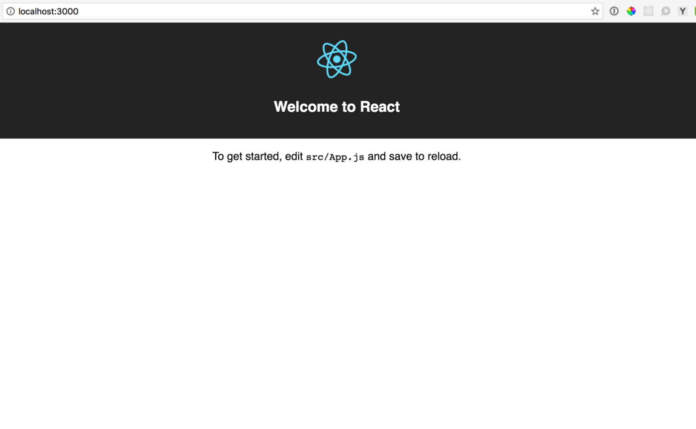 Deprecation warning: See for new link -React Getting Started — The