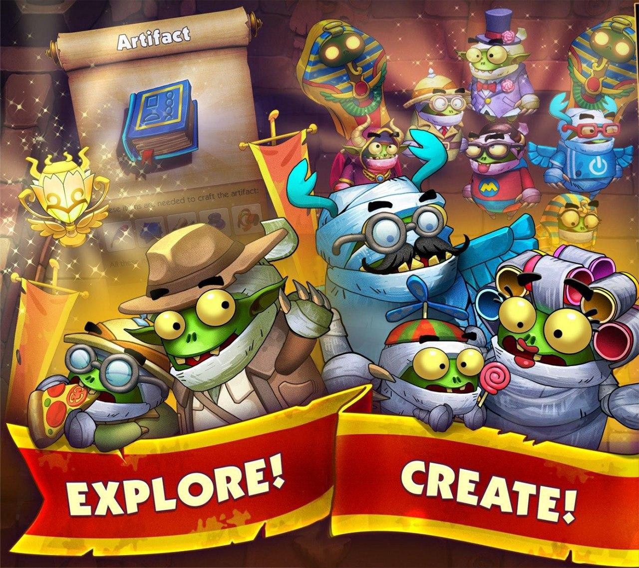 Illustration is provided by the developers of the game Monster Hustle