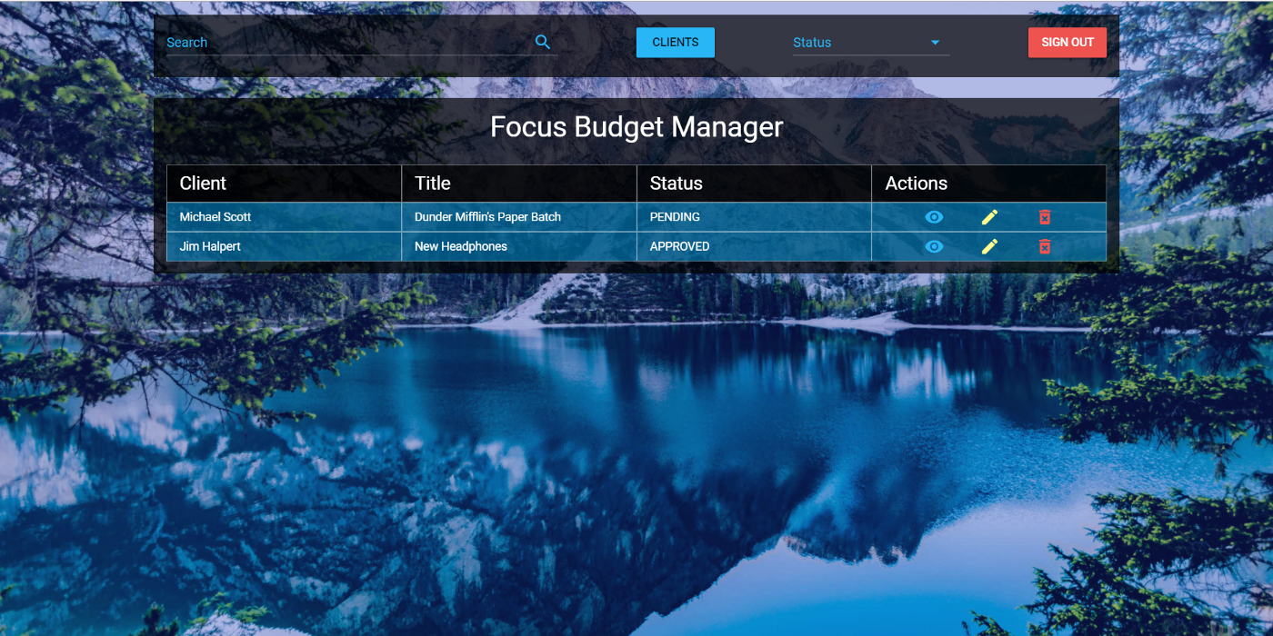 Building a Budget Manager with Vue js and Node js (Part III)