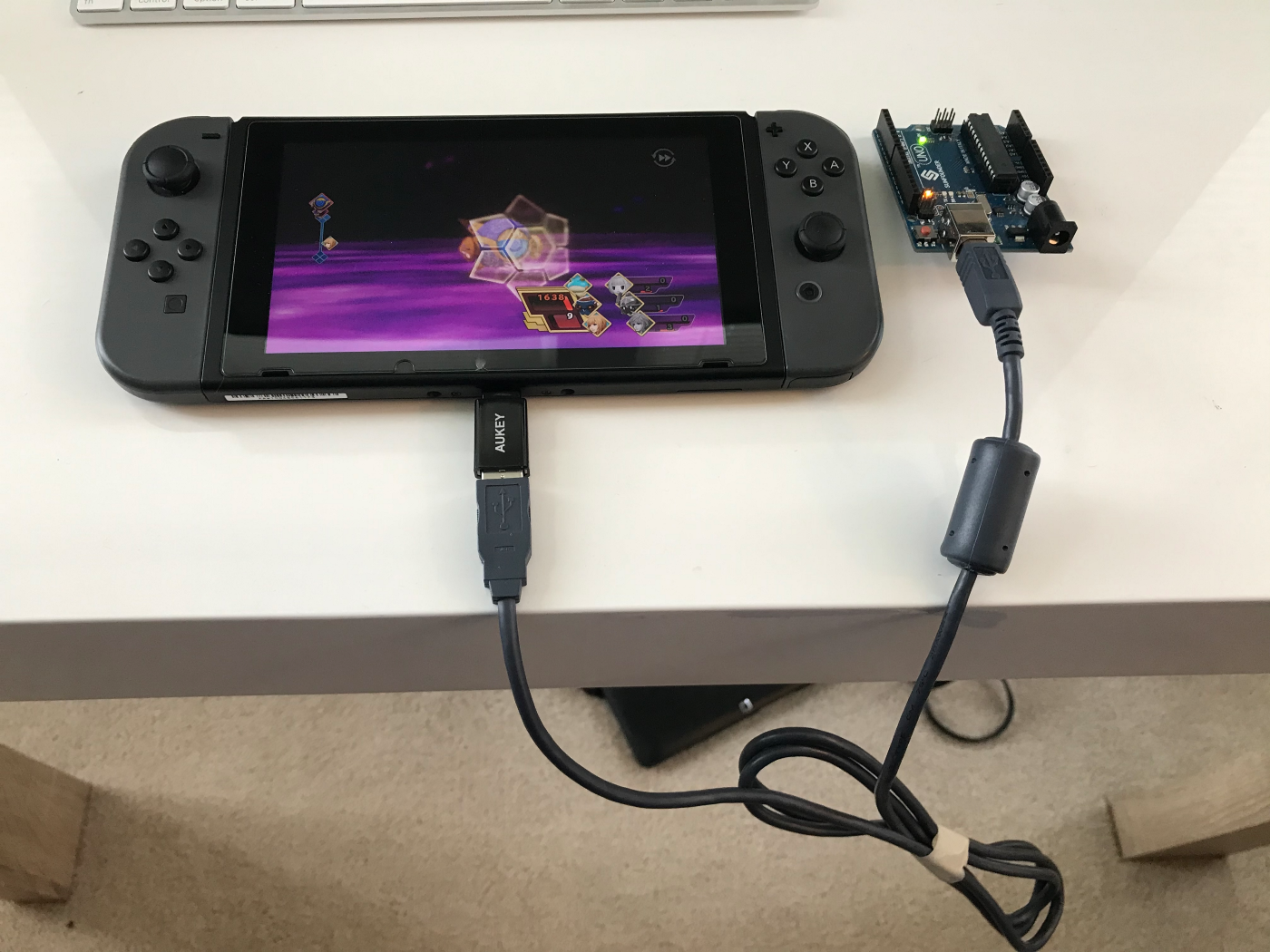 Spoofed Switch Controller