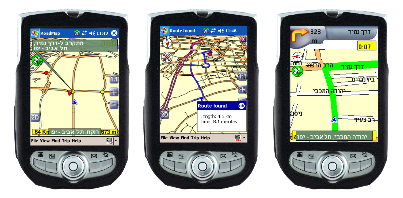 Waze used to be called FreeMap, and the map looked completely different than it does now.