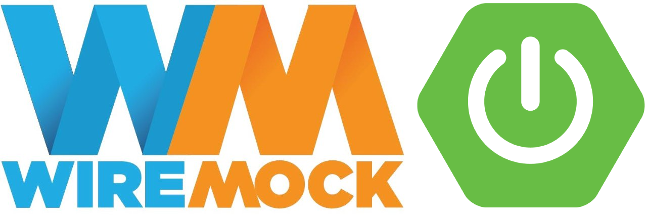 WireMock logo next to Spring Boot logo