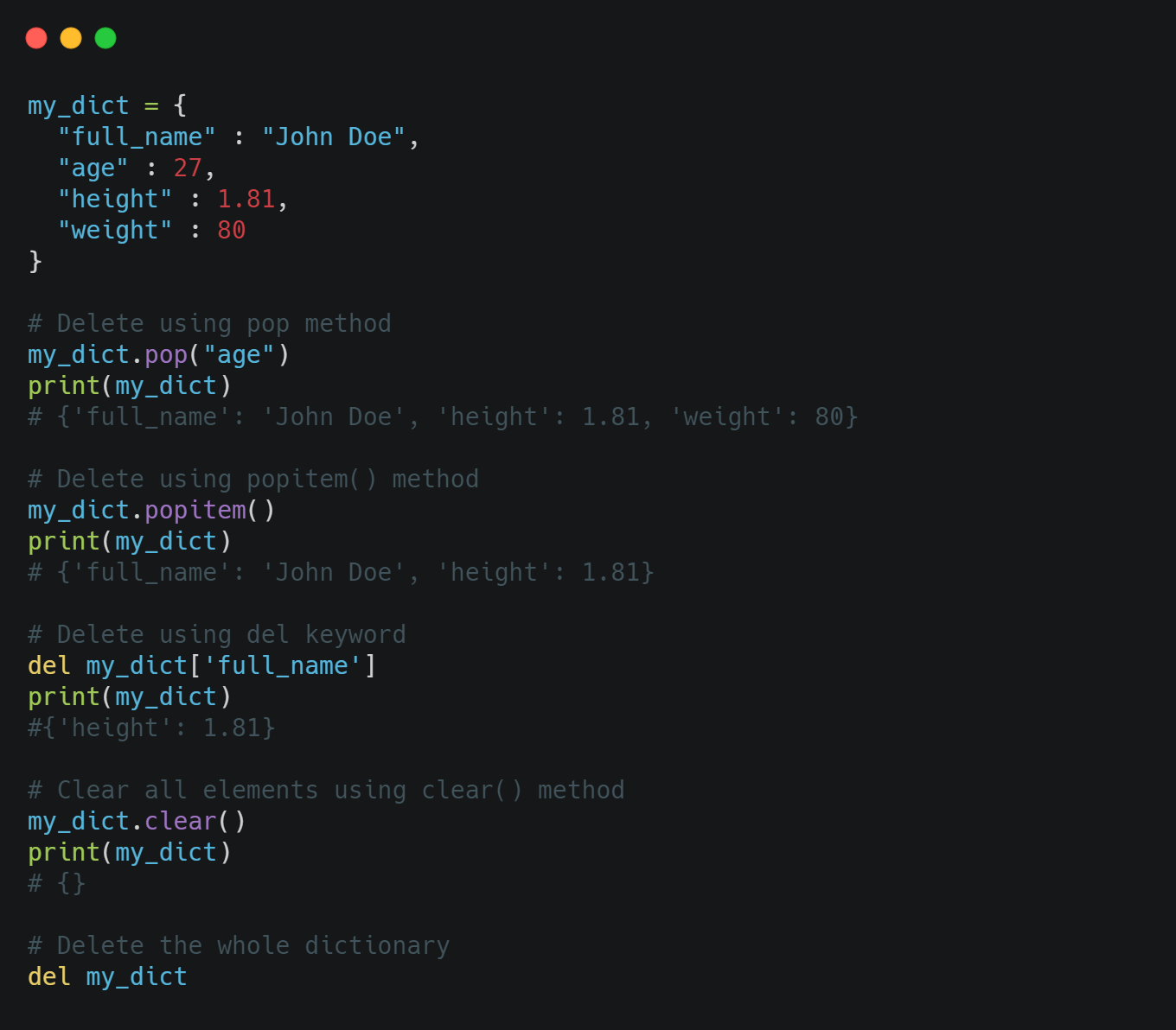 Learn about Dictionaries in Python   by Andreas Soularidis   Sep ...