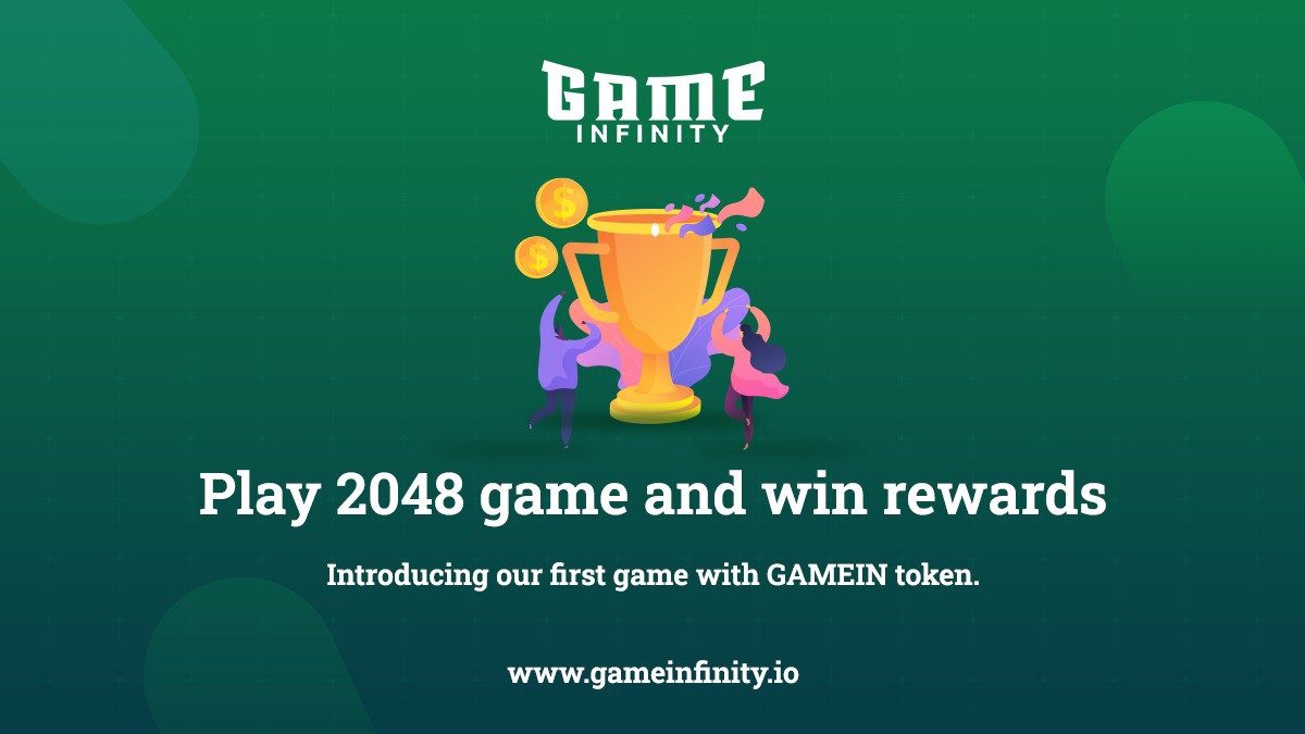 GameInfinity launches its first game inegrated with GAMEIN token. Players can use the token as entry fee and get 85% of total match tokens on winning.
