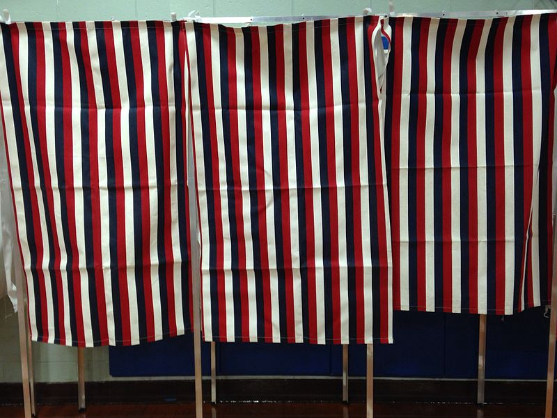 Voiting booths
