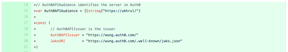 Integrate Auth0 with Buffalo for API Authentication