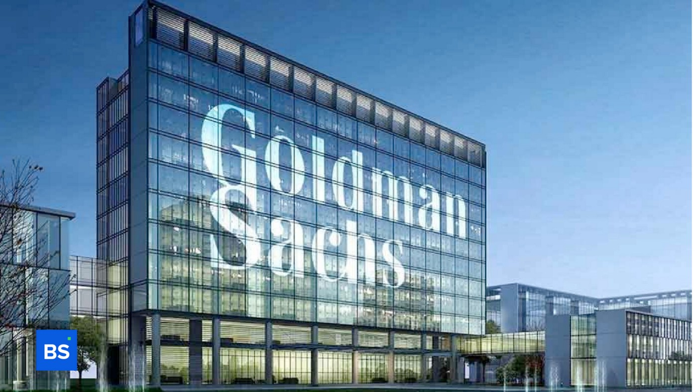 A photo of Goldman Sach's office outdoor look