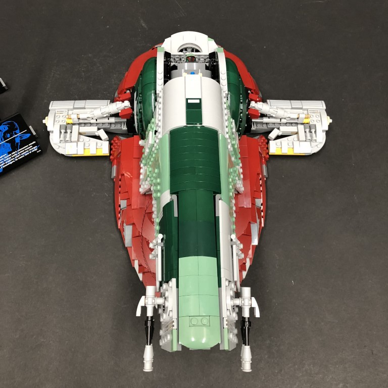 Light My Bricks: LEGO Star Wars Slave 1 75060 Lighting Kit