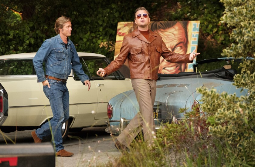 One more of Brad and Leo from Tarantino's Once Upon a Time... in Hollywood