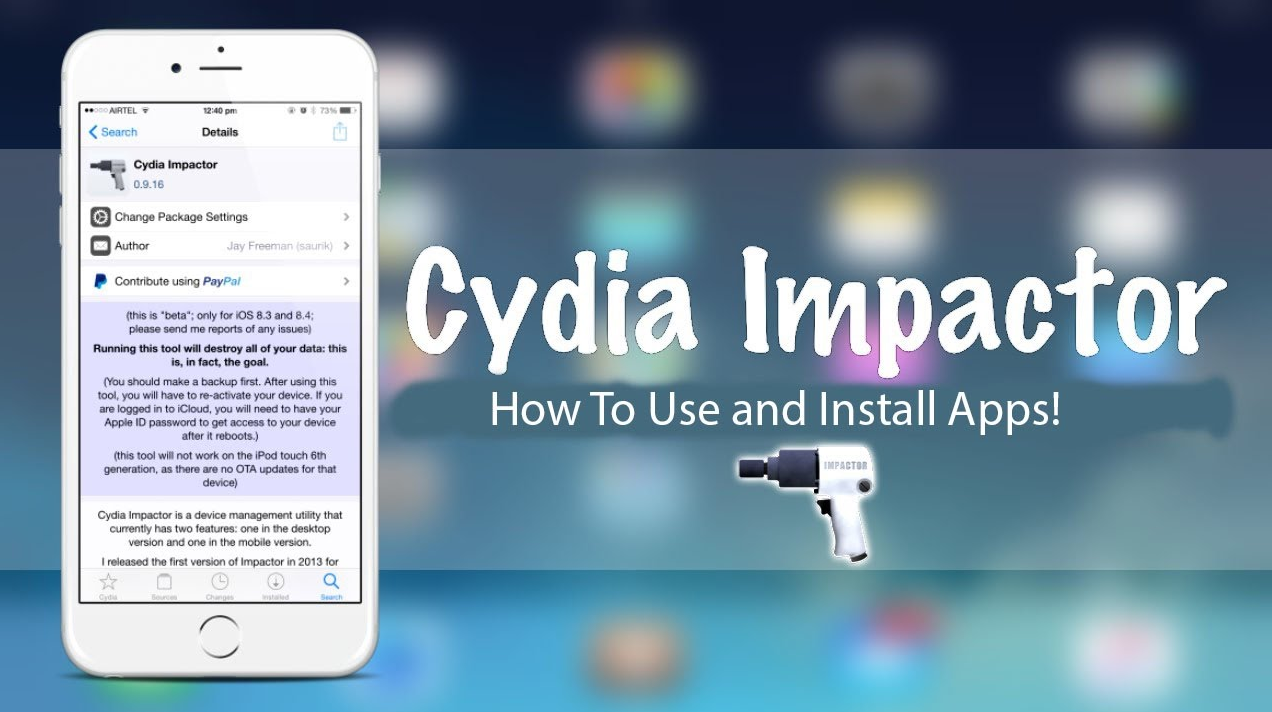 Download Cydia Impactor Latest Version to for Apple and Android Devices