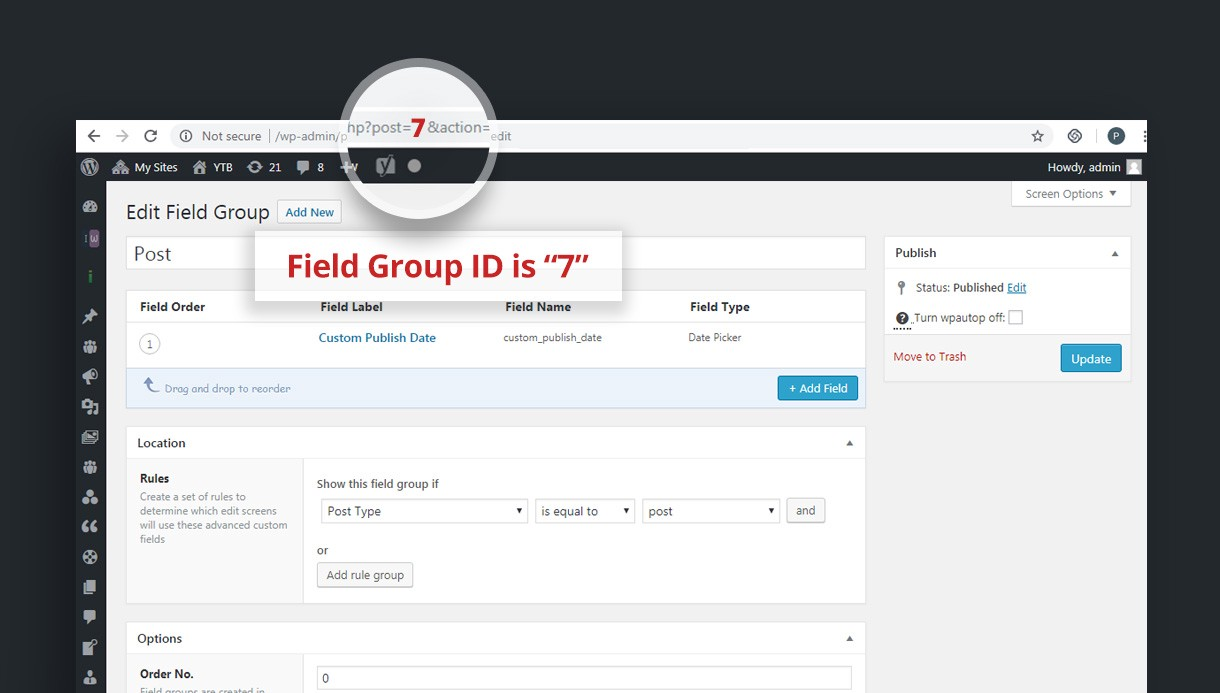 How to add Advanced Custom Fields (ACF) to a frontend form?