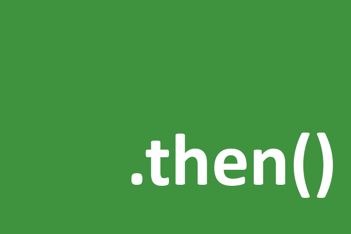 The benefit of thenable object in JavaScript