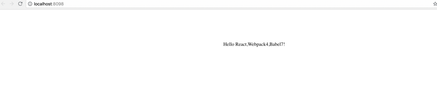 Setting Up React, Webpack 4 & Babel 7 from scratch — 2019