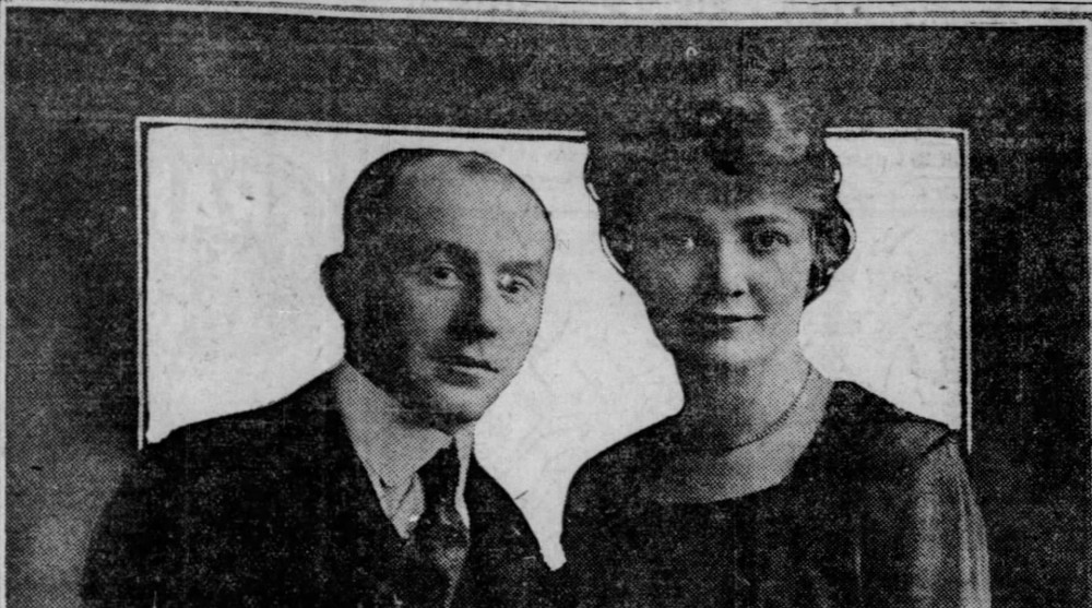 Carl and Ruth Wanderer, Chicago Tribune, June 22, 1920