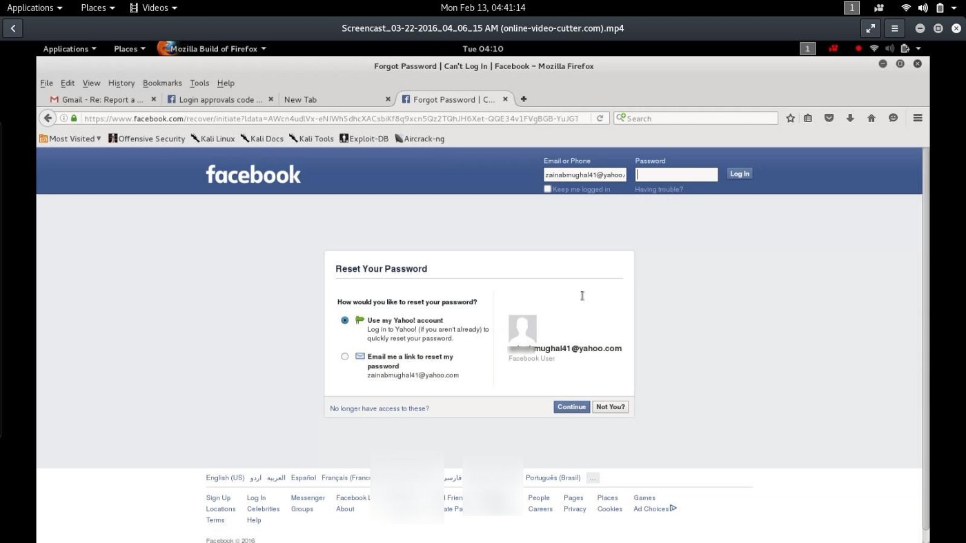 Vulnerabilities in Facebook Login Approval Form - Zahid Ali - Medium