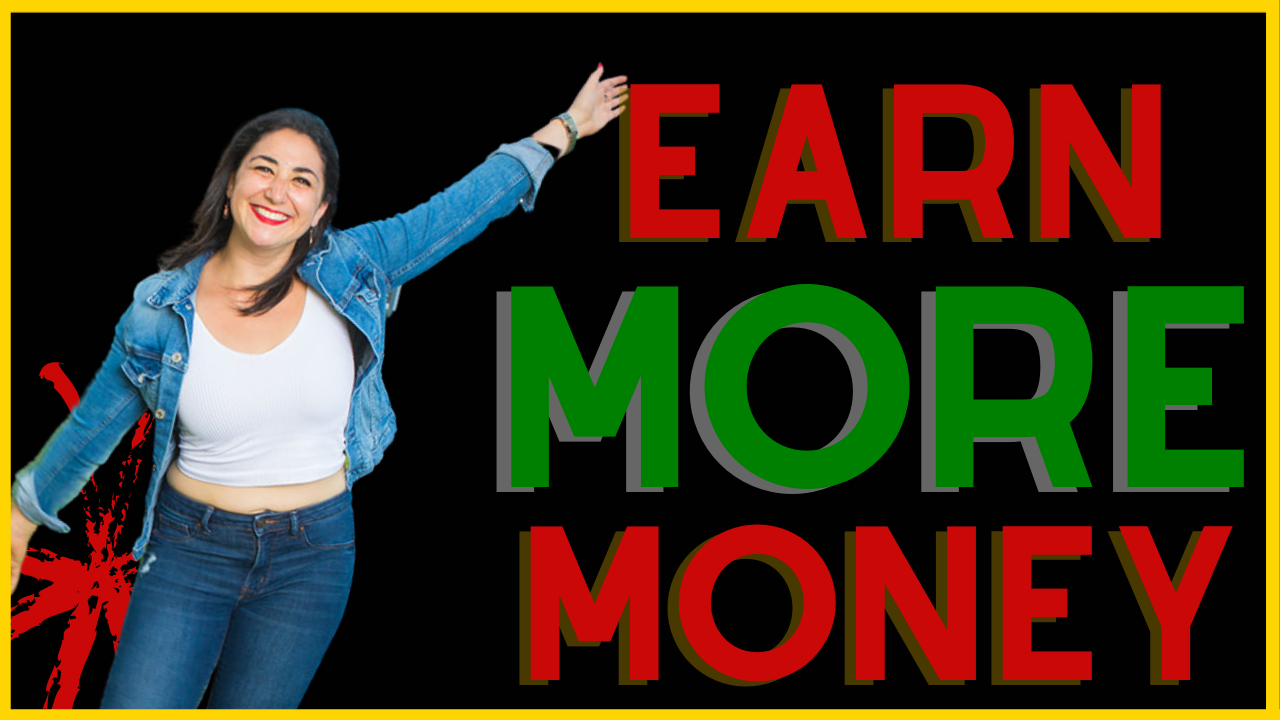 learn how to earn more money with passive income
