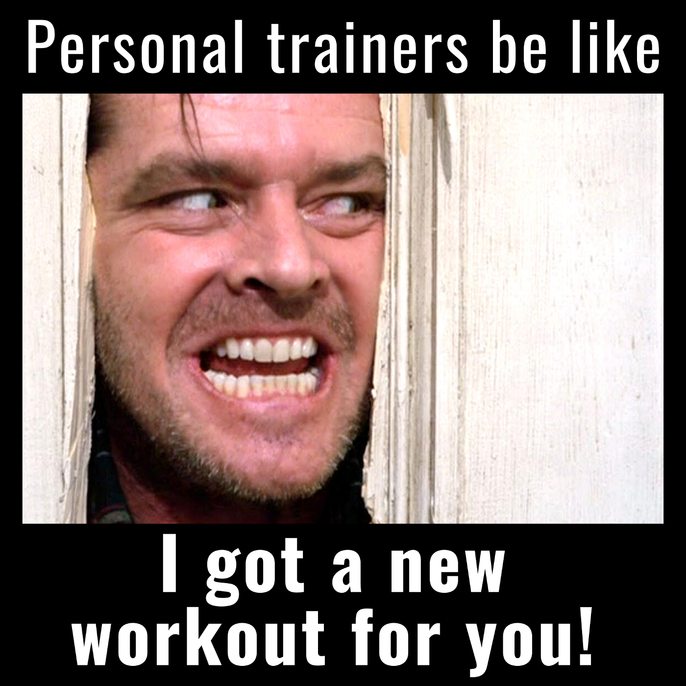 personal trainer workout fitness gym sports humor venture capital