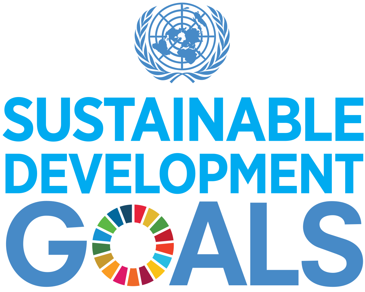 sustainable development goals and the UN logo