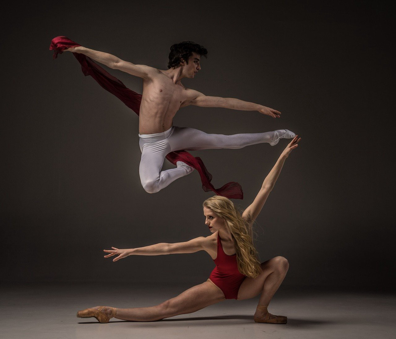 Why Consistency is the Key to Success—Impressive ballet dancers