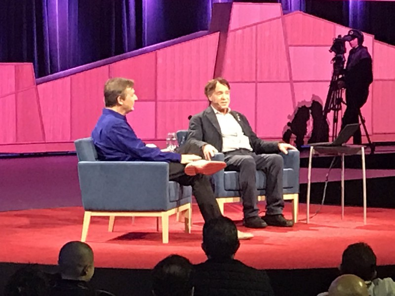 Michael Ferro: AI in Healthcare Series: Ray Kurzweil and Chris Anderson at TED