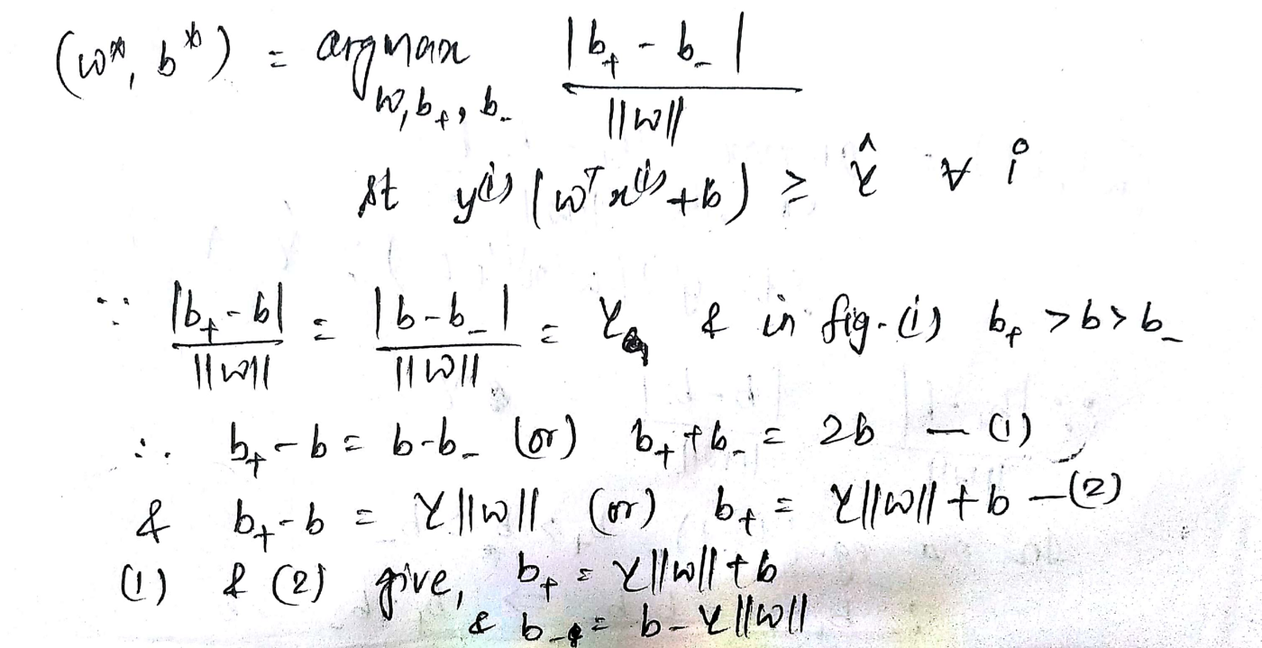 Demystifying Maths of SVM — Part 1 - Towards Data Science