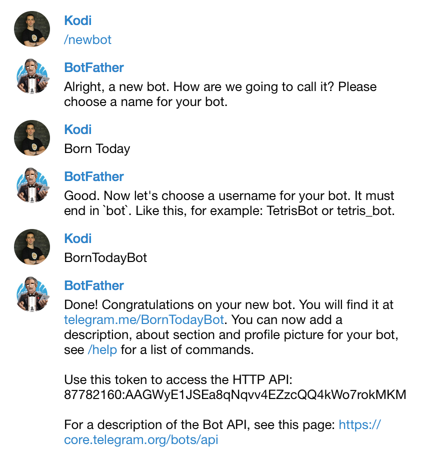 Create an automated bot on Telegram without coding, using Zapier and