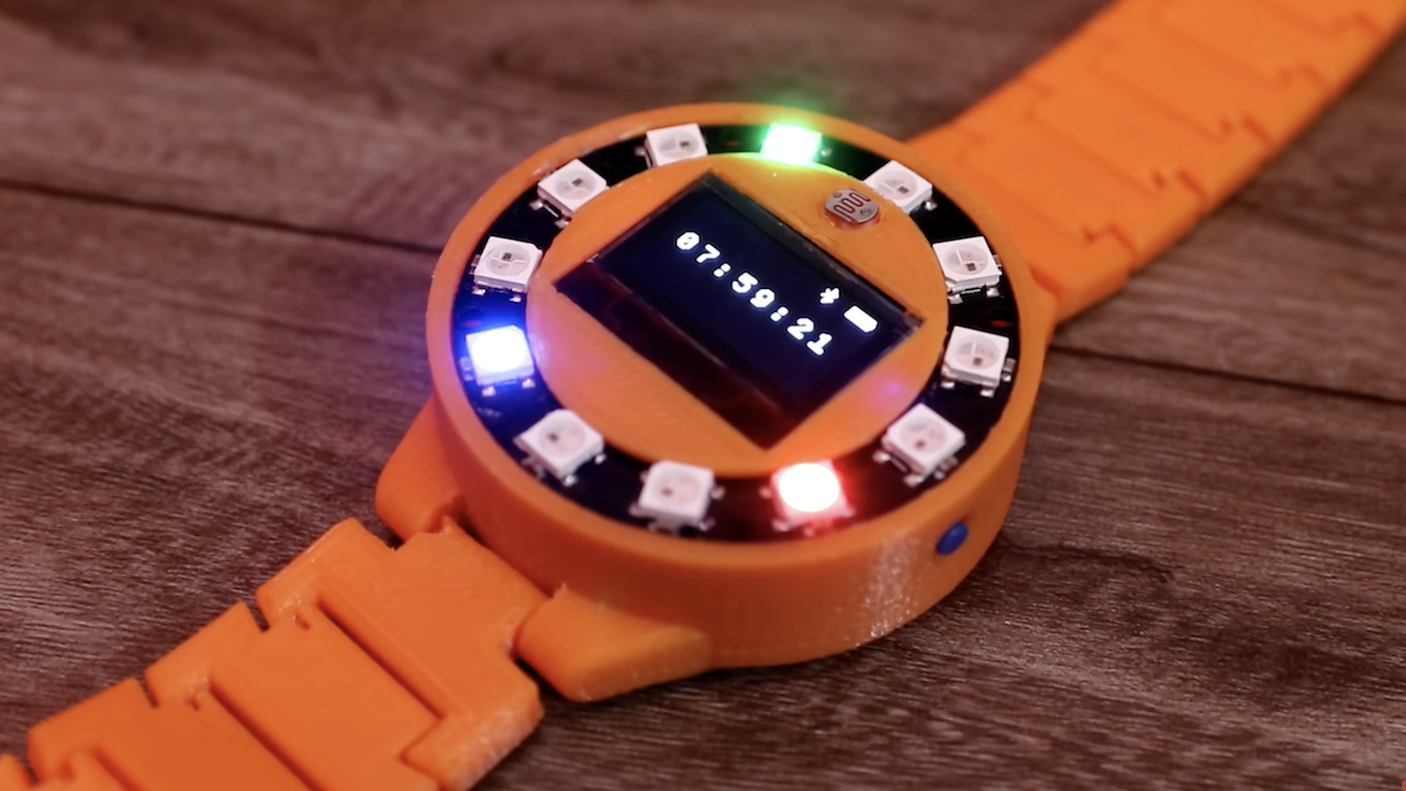 DIY Smartwatch Is a Marvel of Miniaturization - Hackster Blog