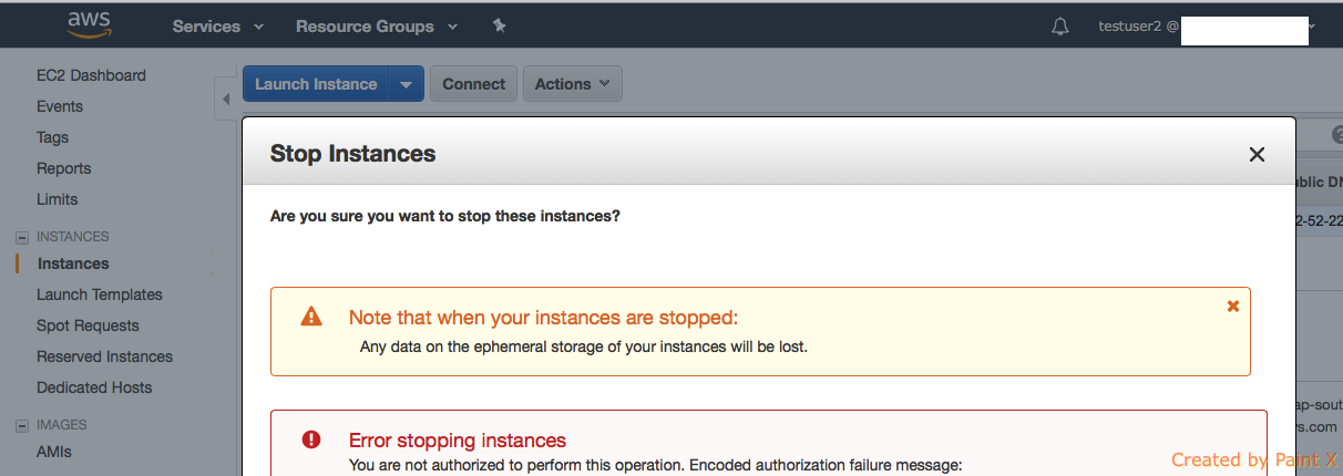 Service Control Policy and IAM Policy with AWS Organization