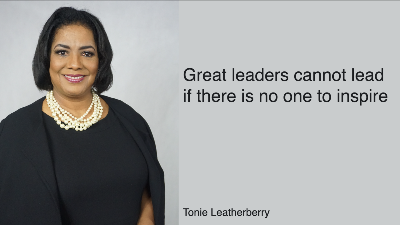 In conversation with Tonie Leatherberry