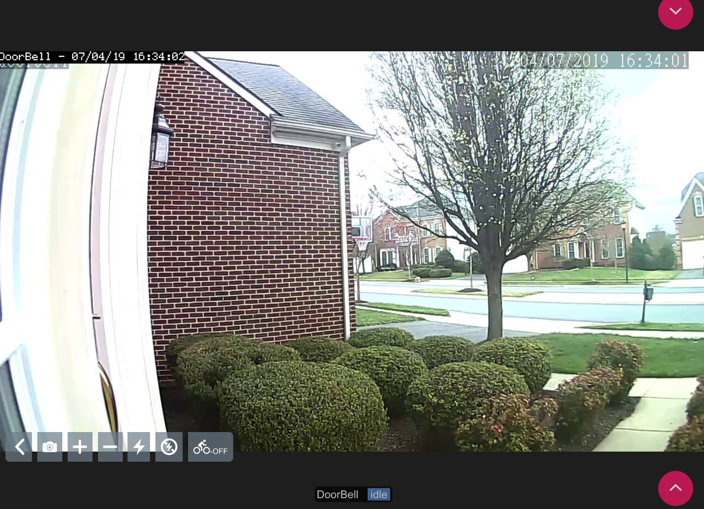 DIY Doorbell face recognition with ZoneMinder and dbell
