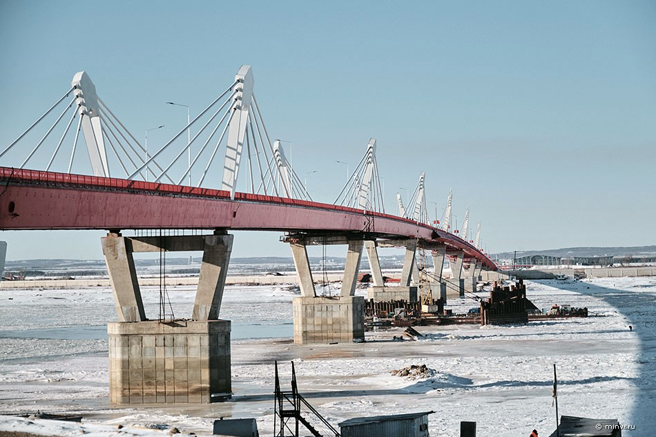Amur River Bridge