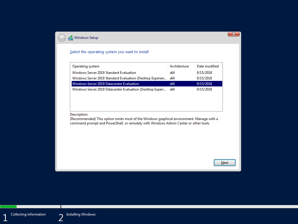 Direct Download Links — Windows Server 2019 General Availability