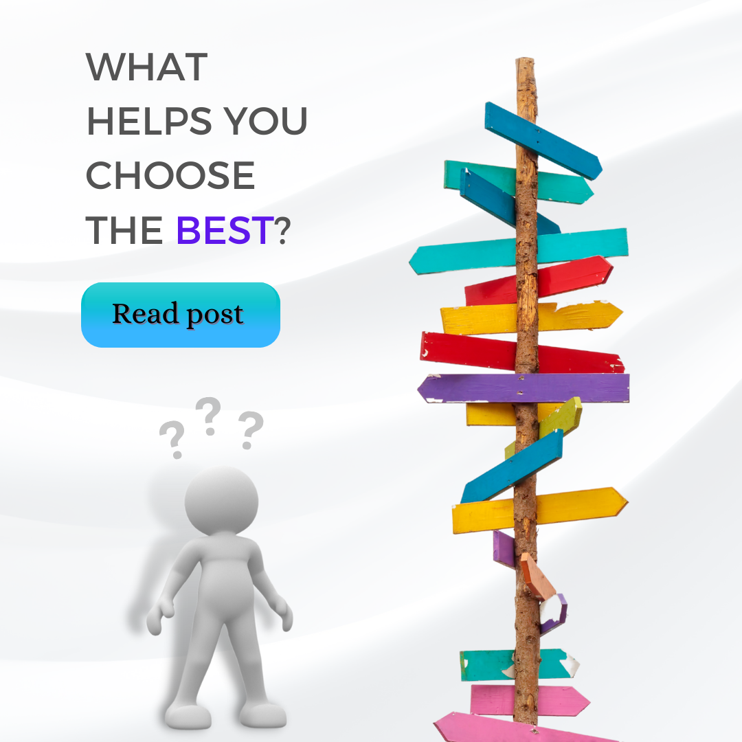 Confused about Choices?