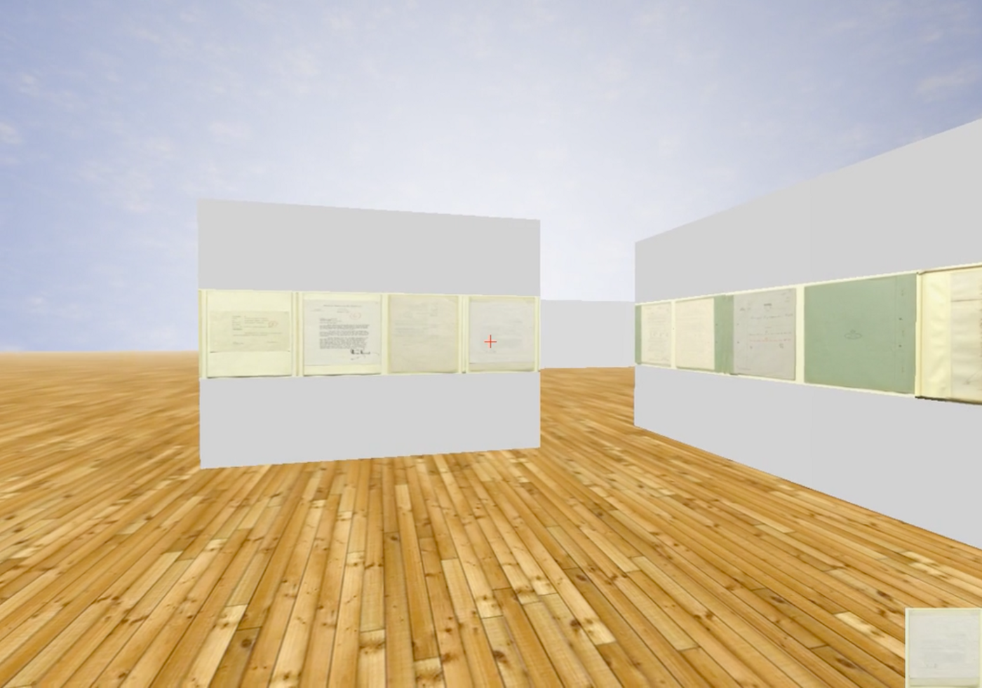 How to create a virtual 3D gallery using IIIF and Three js
