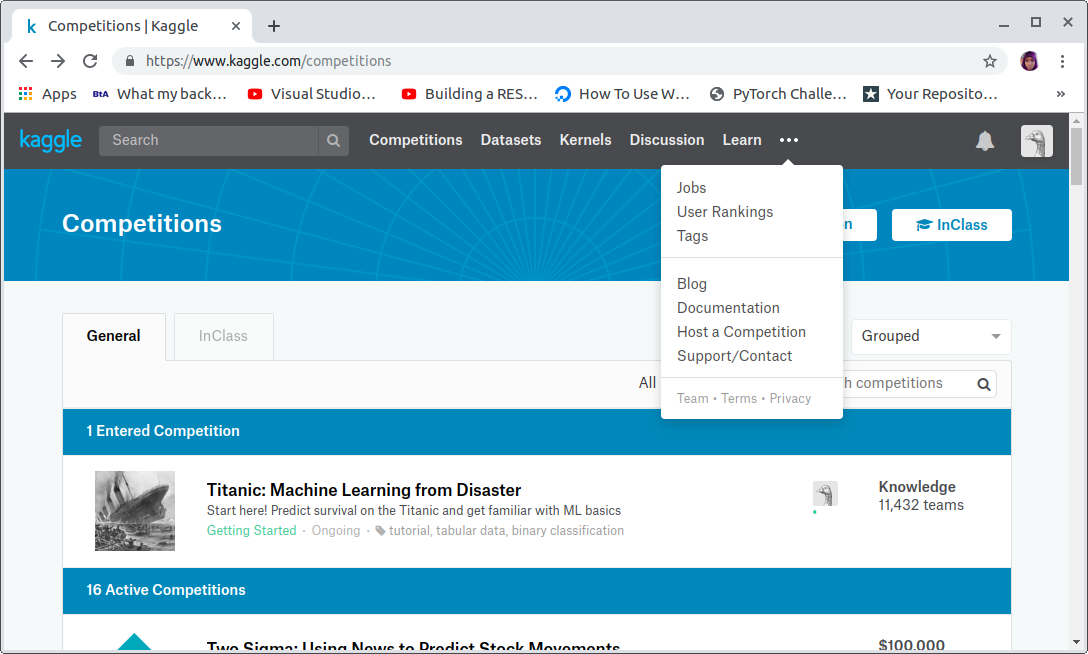 Kaggle For Beginners : Getting Started - Towards Data Science