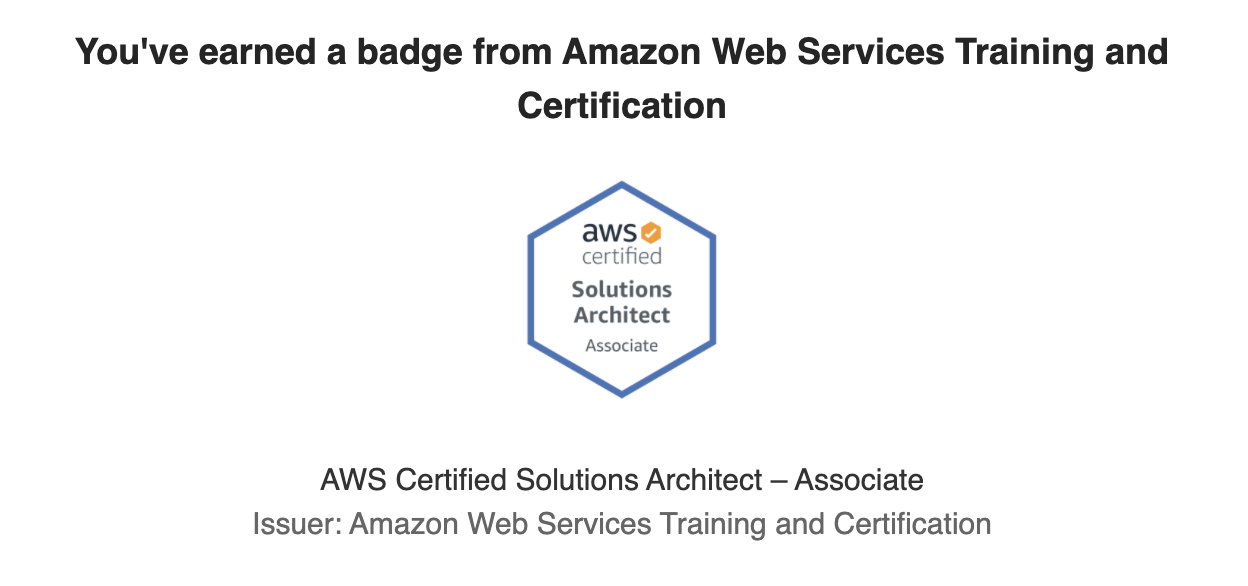 AWS Certified Solutions Architect—Associate