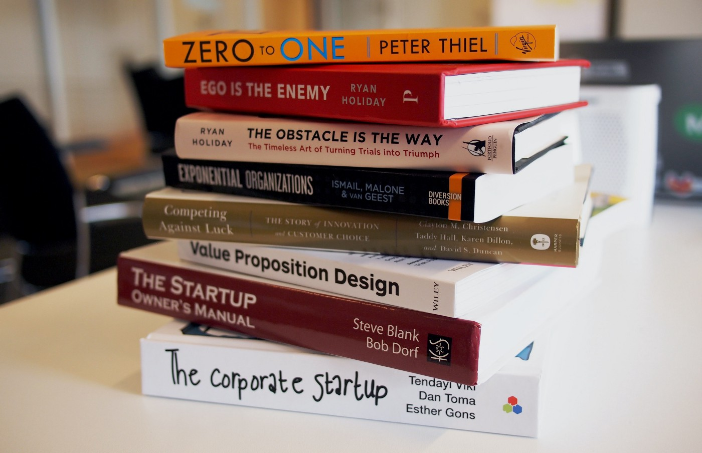 a list of business books for entrepreneurs