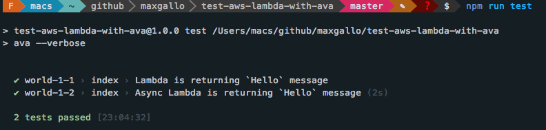Testing AWS Lambda with AVA - DAZN Engineering - Medium