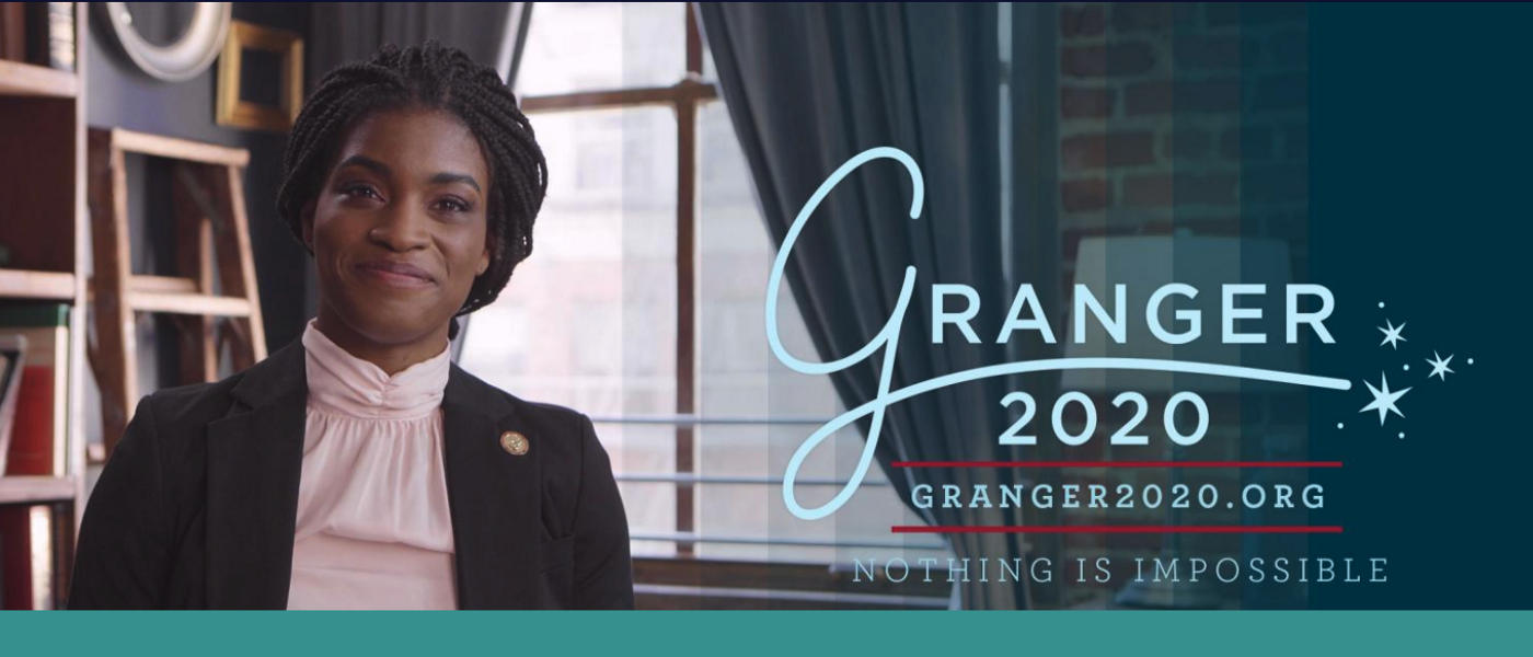 Image from HPA's Granger 2020 Campaign featuring Hermione as an adult black woman.